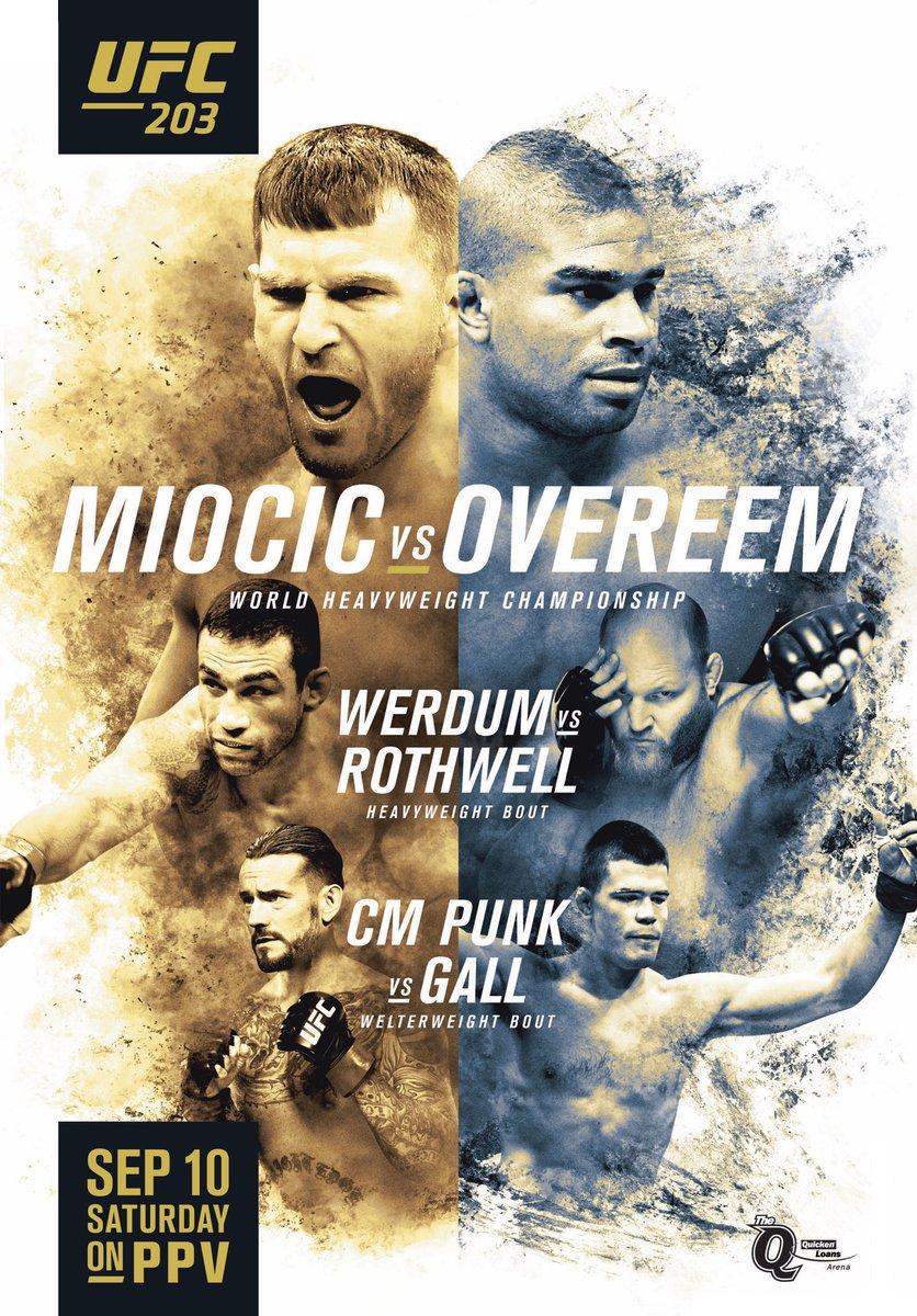 UFC203