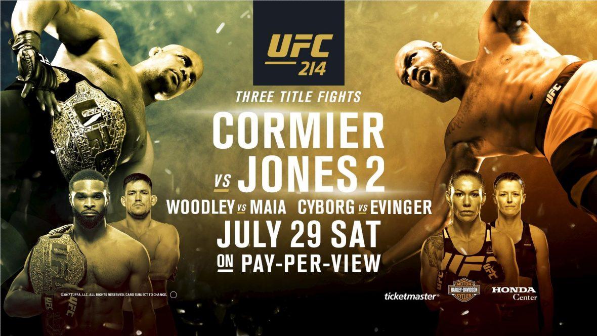 UFC214